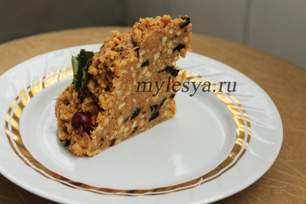 Торт Муравейник со сгущёнкой