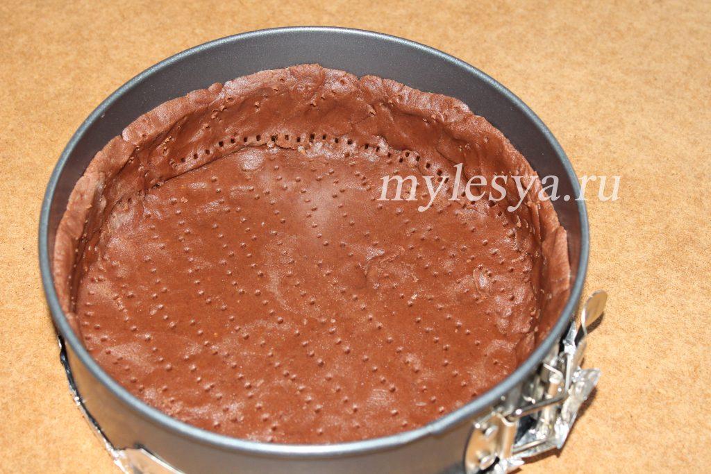 Домашний творожный чизкейк (шоколадный с ароматом «Бейлиз»)