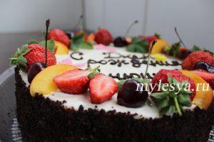 Торт Трухлявый пень домашний рецепт