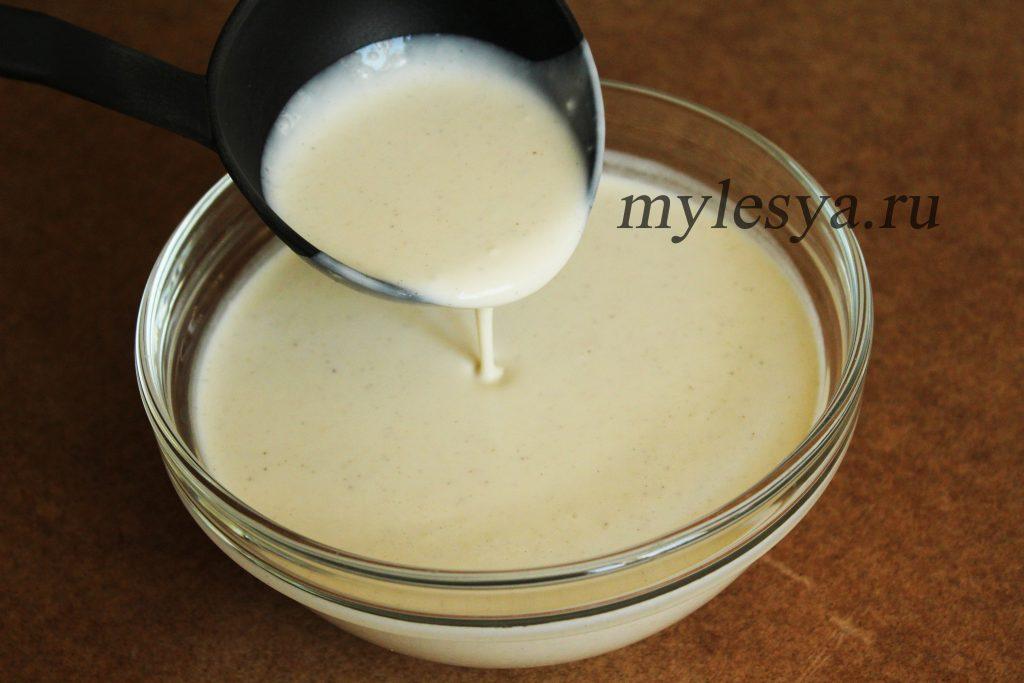 Тесто для блинчиков на молоке