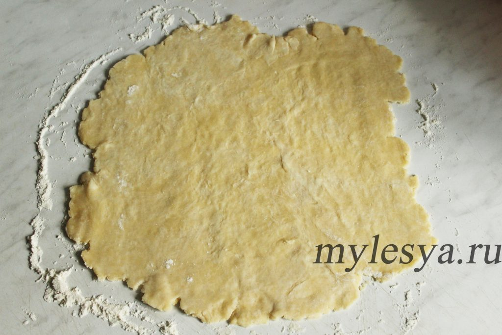 Рубленое тесто для пирога