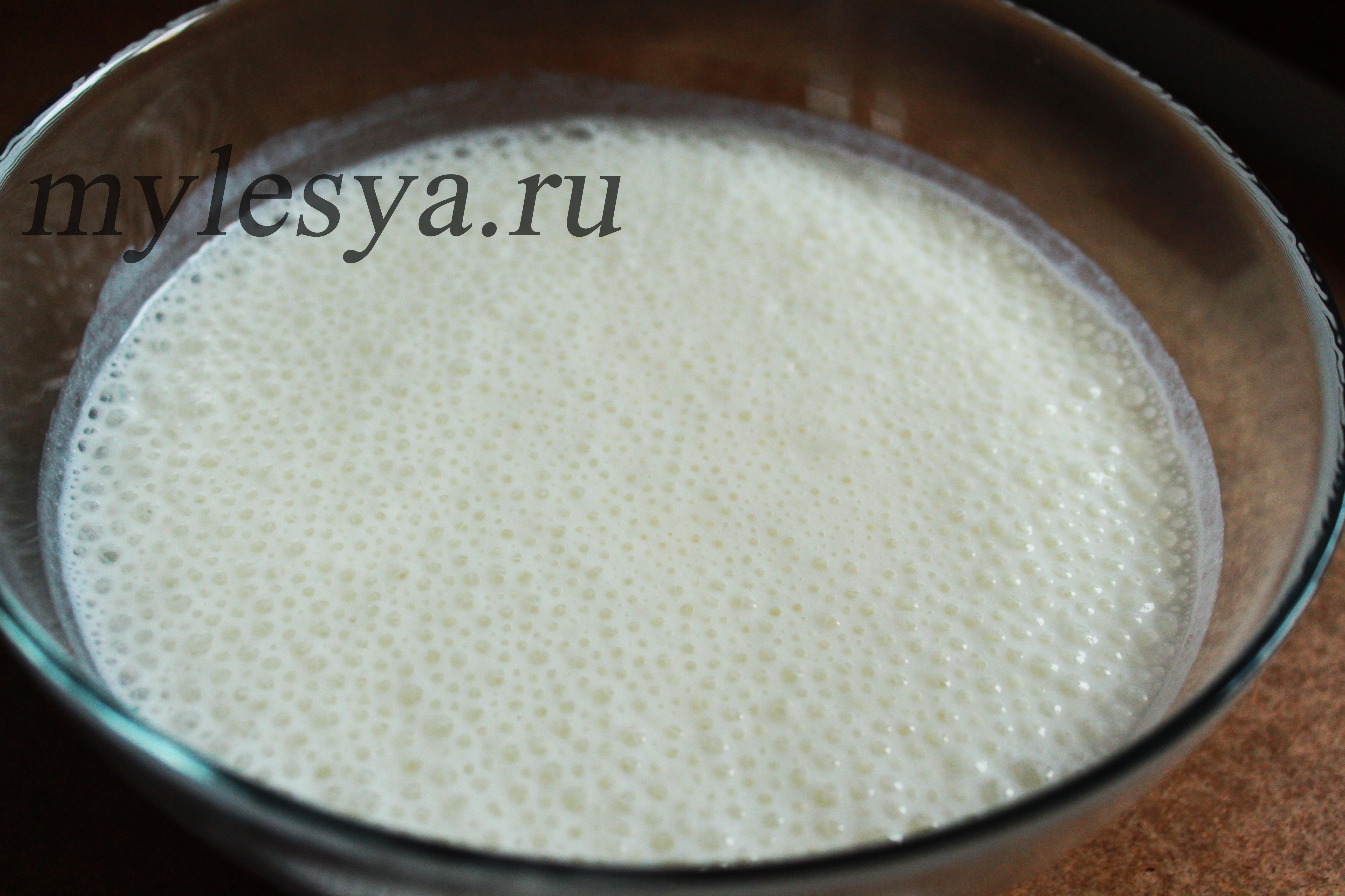 Пышные оладьи на кефире (рецепт без дрожжей)