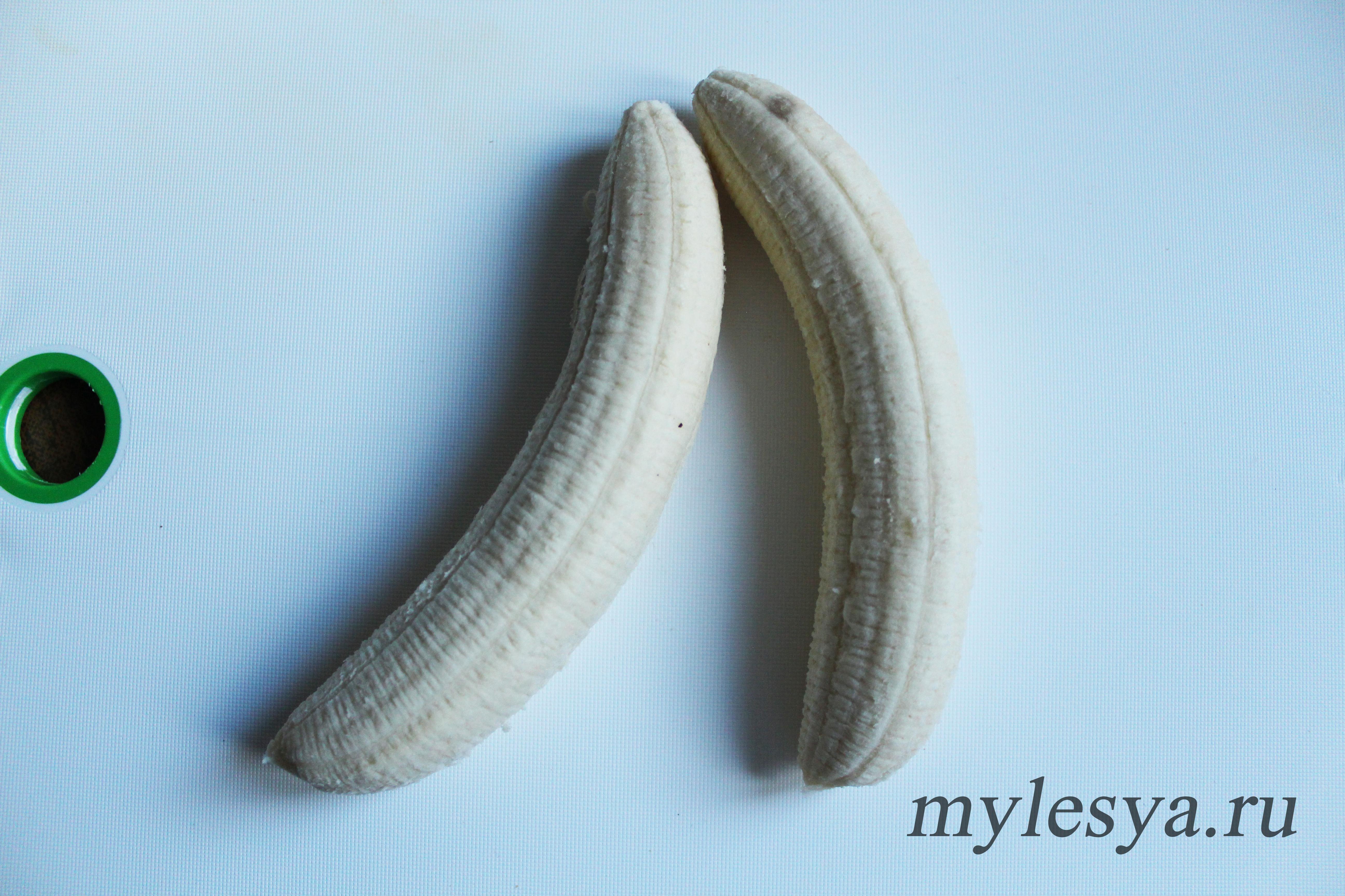 бананы на Хэллоуин