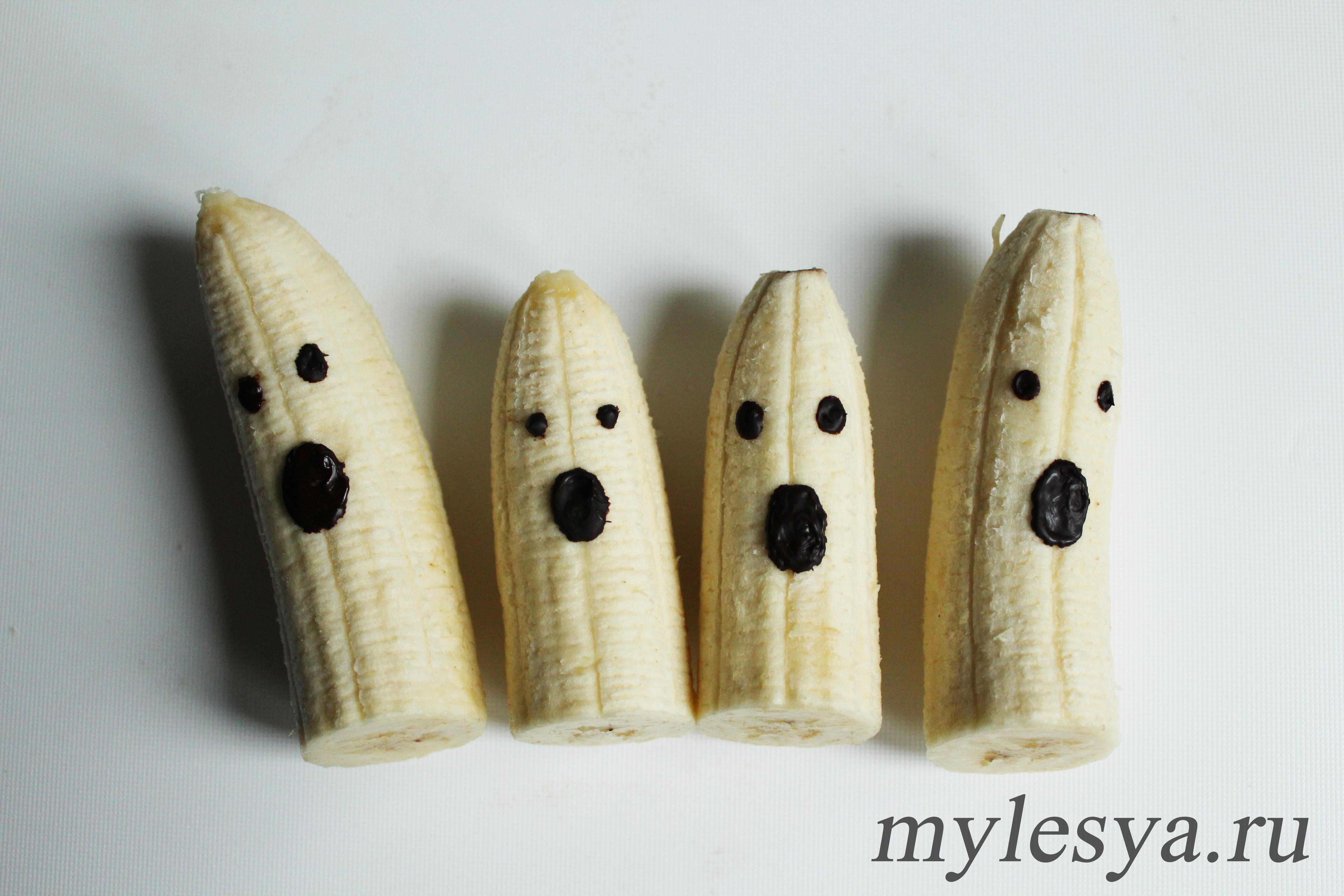 фрукты на Хэллоуин