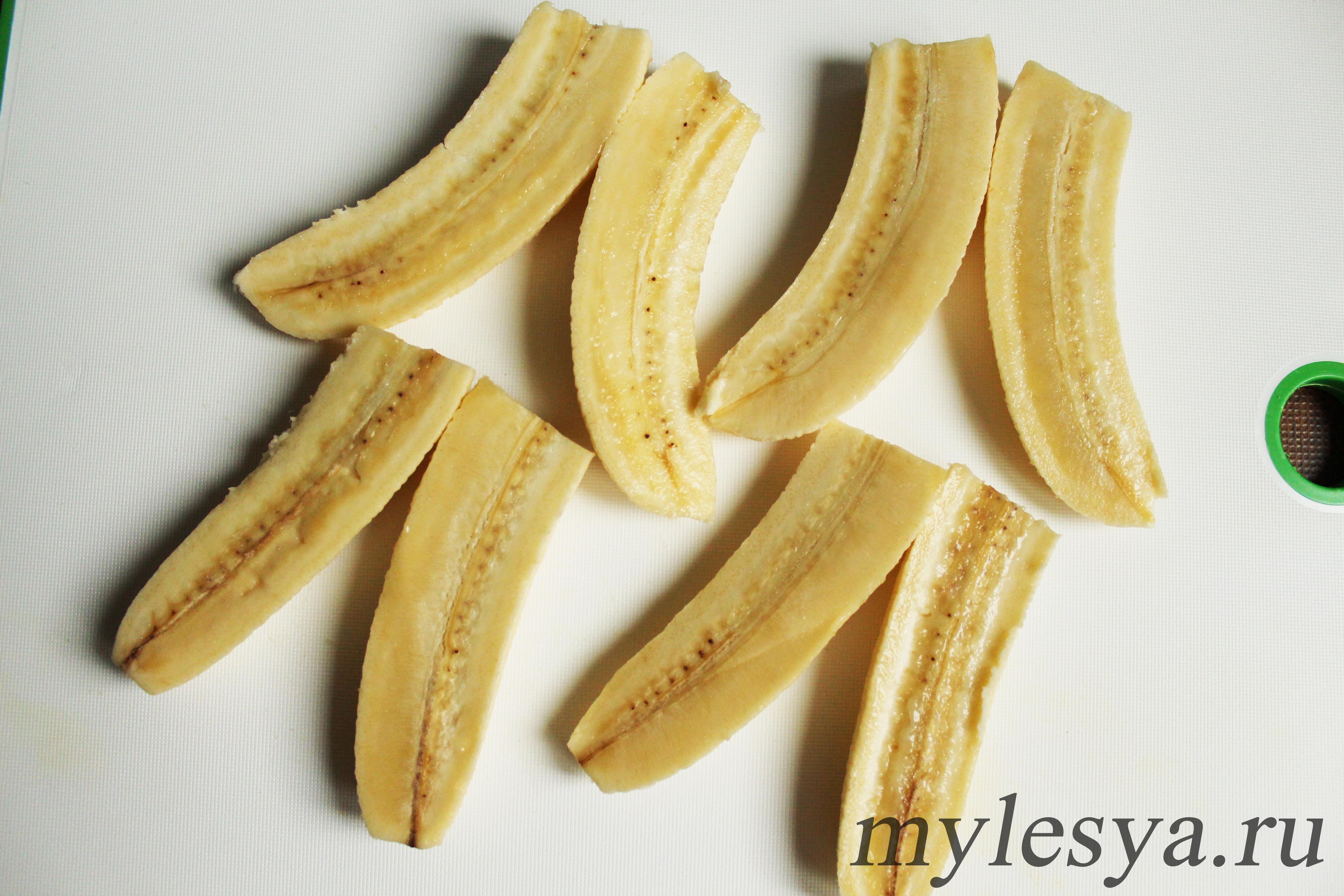 Бананы для творожной запеканки